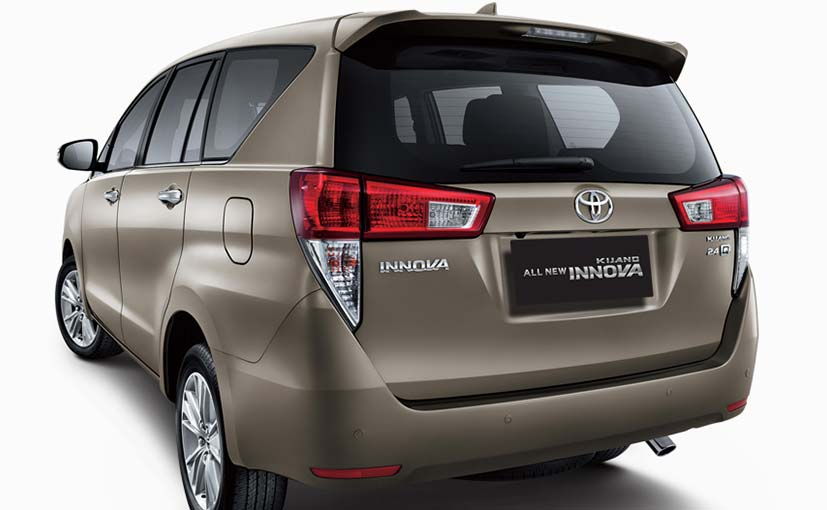 New Toyota Innova Teased Ahead Of Indian Debut At 2016 Auto Expo Befirstrank