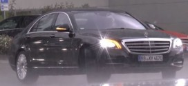 2017 Mercedes-Benz S-class Facelift noticed testing once more