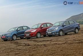 Volkswagen Ameo vs Ford Figo Aspire vs Honda Amaze: Comparison Review