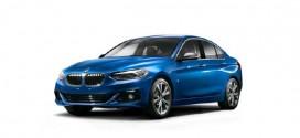 BMW 1 Series sedan officially revealed