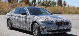 2018 BMW 5 Series plug-in hybrid undergoing testing