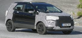 Ford EcoSport Facelift Spied Testing in Europe