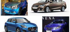Maruti Suzuki in 2017: New Swift, DZire, Ignis And More