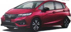 2018 Honda Jazz Facelift Leaked In Japan