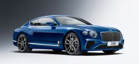 BENTLEY'S NEW CONTINENTAL GT WRAPS CLASSY STYLE AROUND SWANKY TECH
