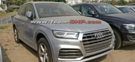 New Gen Audi Q5 Spotted In India; Launch In 2018