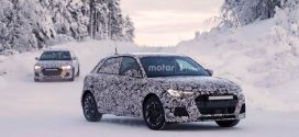 2019 Audi A1 Hatchback Spotted Undergoing Cold Weather Testing