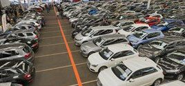 Record volumes drive the used car market in January