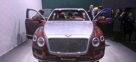 Geneva Auto Show: Bentley enters hybrid territory with Bentayga SUV
