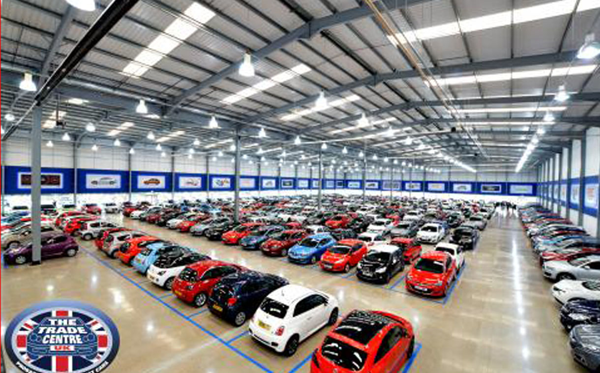 Europes Largest Used Car Showroom Opens In Coventry BeFirsTrank - Car showroom