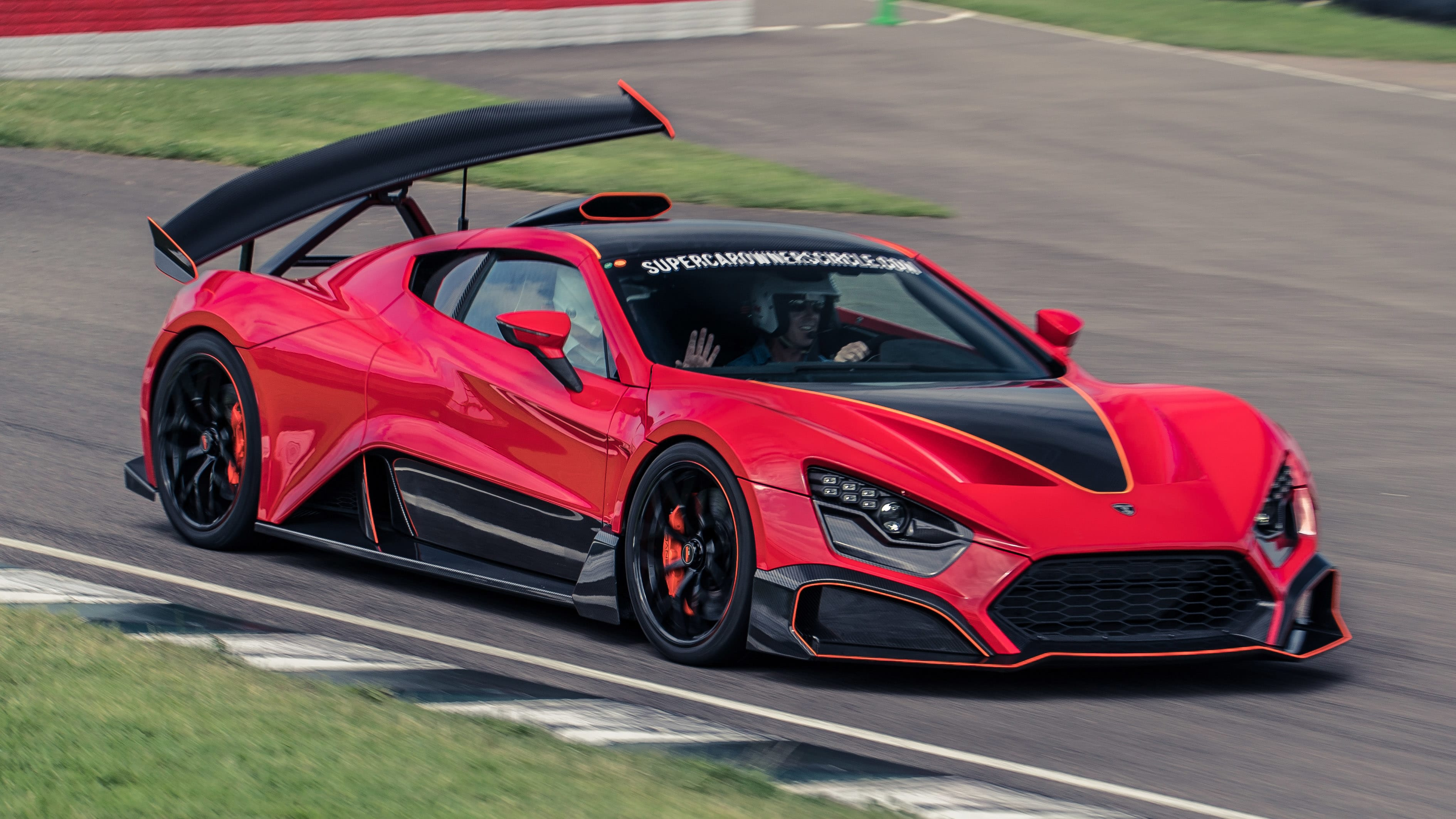 Zenvo TSR-S review: the 1,177bhp car with the mad wing ...