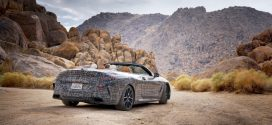 BMW 8 Series Convertible teased undergoing testing in Death Valley