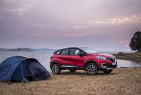 Capturing Sunrise: Lakeside camping with the new Renault Captur