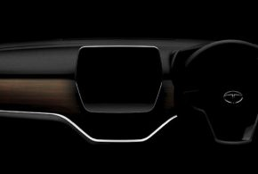 Tata Harrier dashboard revealed in latest teaser image