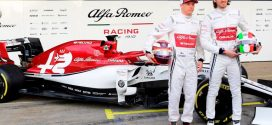 F1 Testing: Alfa Romeo reveal new livery and car, the C38