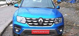 Refreshed Renault Duster spied in production form